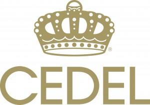 Cedel Logo Registered Gold