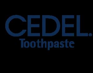 Cedel toothpaste logo